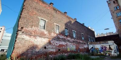 Улица Ефимова, 4а, литера Б, стена