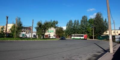 Улица Коммуны, кольцо