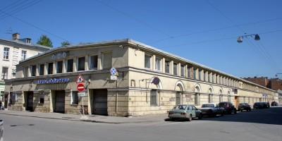 Улица Короленко, 5, автобаза ГУВД