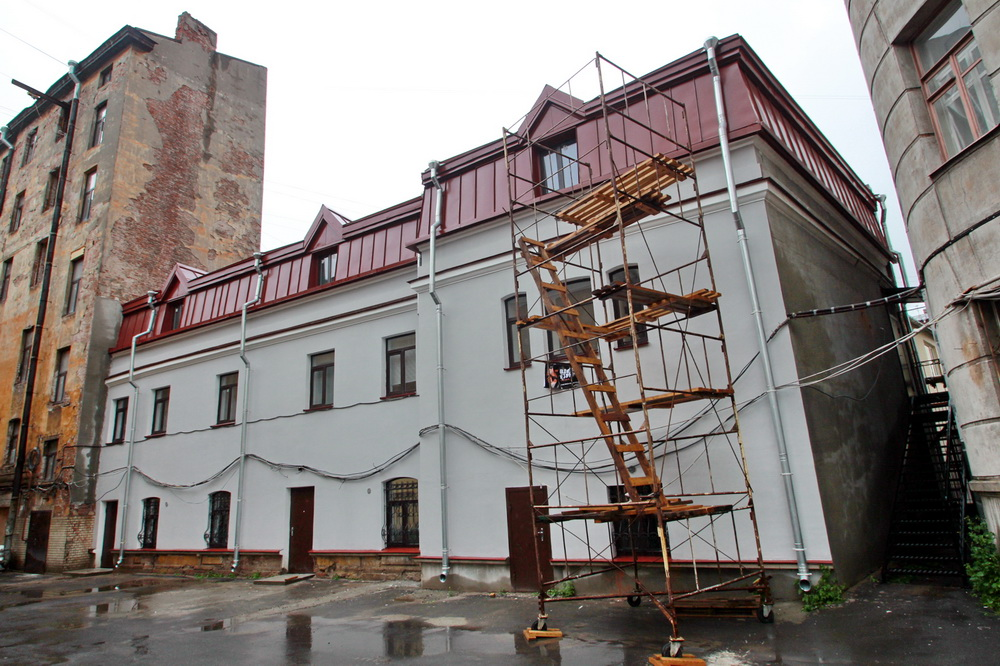 Улица Писарева, 10, флигель после ремонта