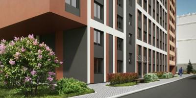 Заозерная улица, проект апартамент-отеля