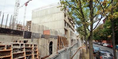 25-я линия Васильевского острова, воссоздание старинных зданий