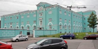 Центральная военно-морская библиотека на Кожевенной линии