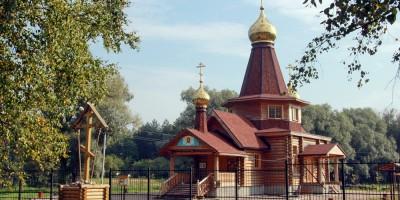 Детскосельский, церковь Спиридона