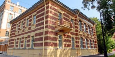 Городской дом двух начальных училищ имени Боткина на Большом проспекте Васильевского острова