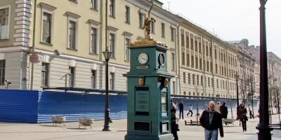 Малая Конюшенная улица, часы
