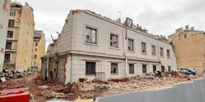 Малодетскосельский проспект, 40, демонтаж, снос