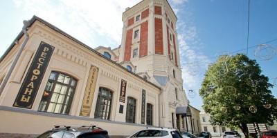 Пушкин, водонапорная башня в Лицейском переулке
