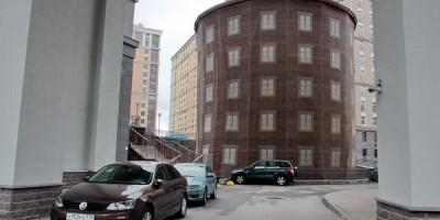 Улица Красуцкого, 3, водонапорная башня Новых городских скотобоен