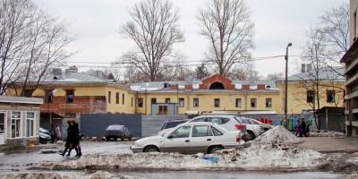 Заброшенный дом на Оранжерейной улице, 51а, в Пушкине