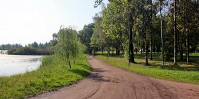 Колпино, Колпинский парк, дорога