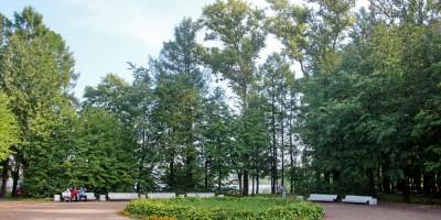 Колпино, Колпинский парк, входная зона