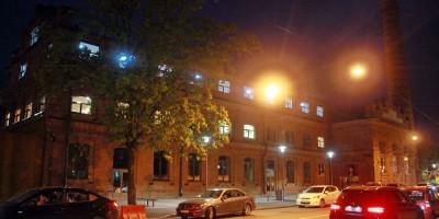Кожевенная линия, Севкабель, здание