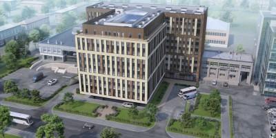 Малый проспект Васильевского острова, 54, корпус 2, проект апартамент-отеля, вид сверху