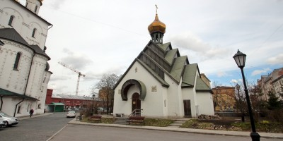Миргородская улица, часовня Новомучеников Российских у Феодоровского собора