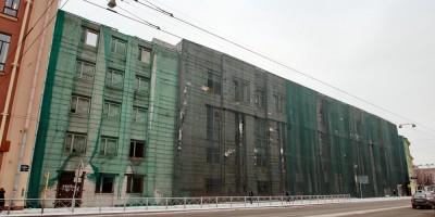 Проспект Медиков, 7, недостроенное здание