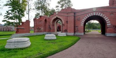 Пушкин, Александровский парк, Шапель, арка