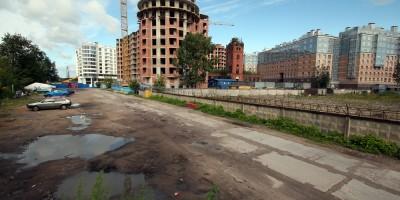 Ждановская улица до строительства