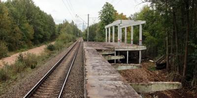 Железнодорожная станция Морская, снос