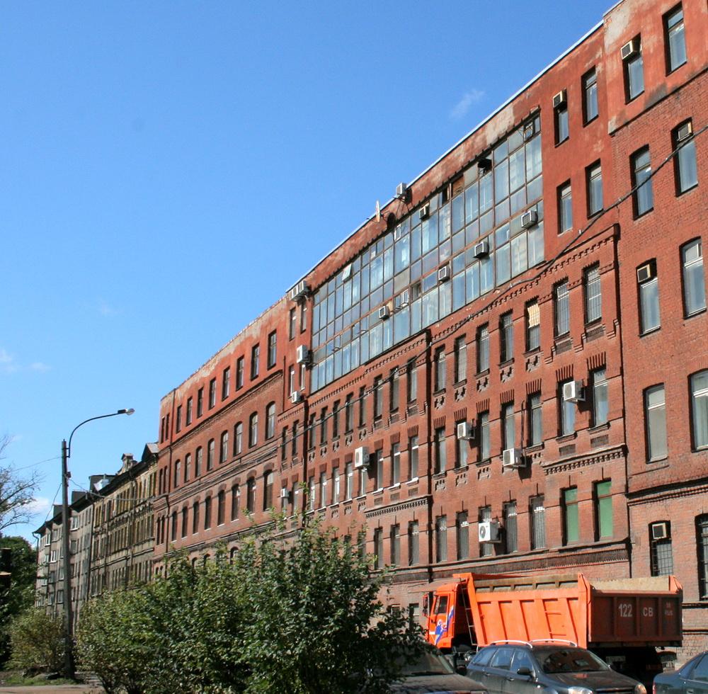 Корпусная улица, вязальная фабрика