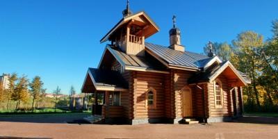 Полежаевский парк, церковь святой Нины