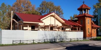Проспект Народного Ополчения, строительство дома причта