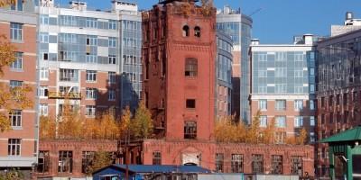 Пионерская улица, 50, водонапорная башня