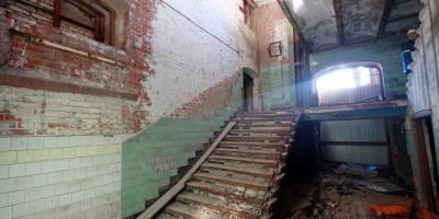 Пионерская улица, 50, водонапорная башня, лестница