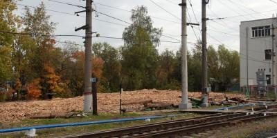 Станция Волковская после сноса