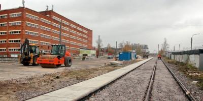 Строительство Гранитной улицы