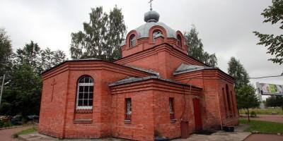 Улица Академика Байкова, церковь преподобномученицы Елисаветы