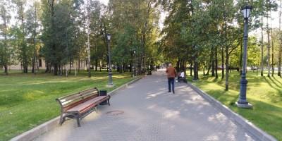 Улица Жукова, парк