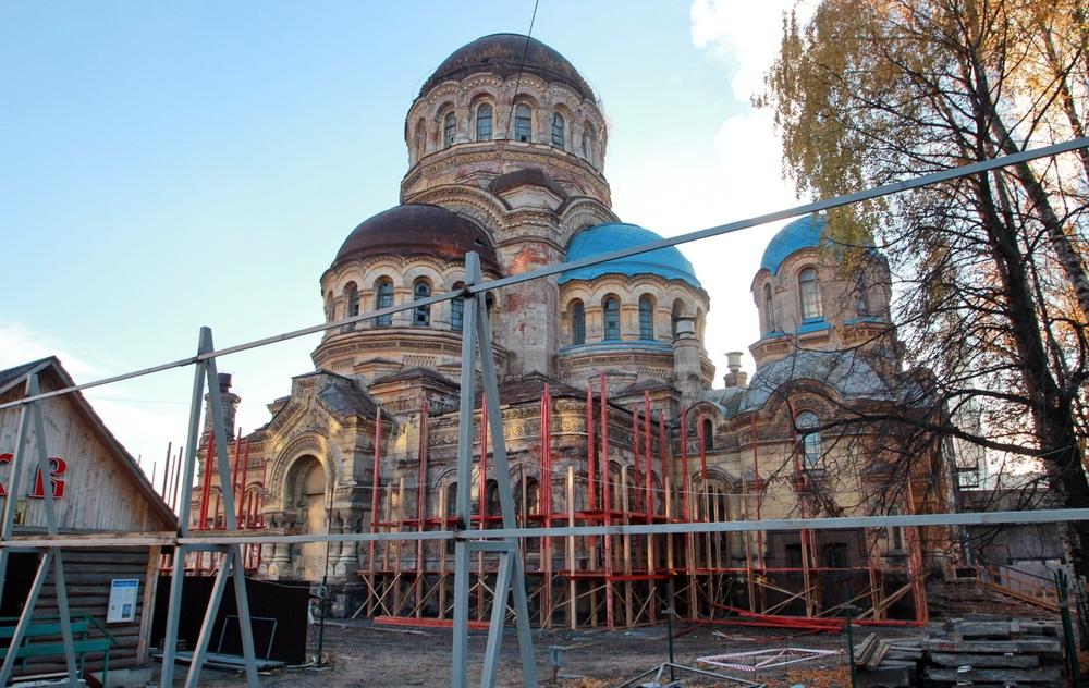Восстановление Милующей церкви на Большом проспекте Васильевского острова