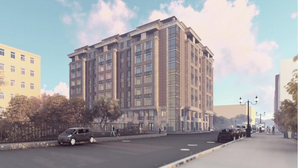 Выборгская улица, 4, корпус 2, проект жилого дома