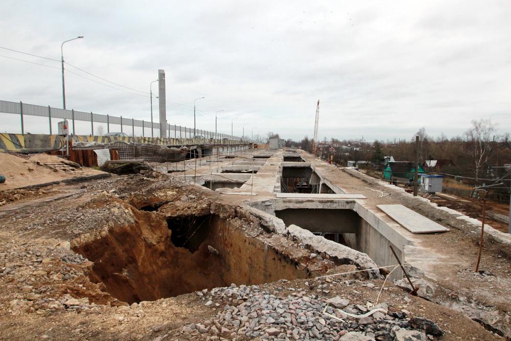 Гореловский путепровод, демонтаж