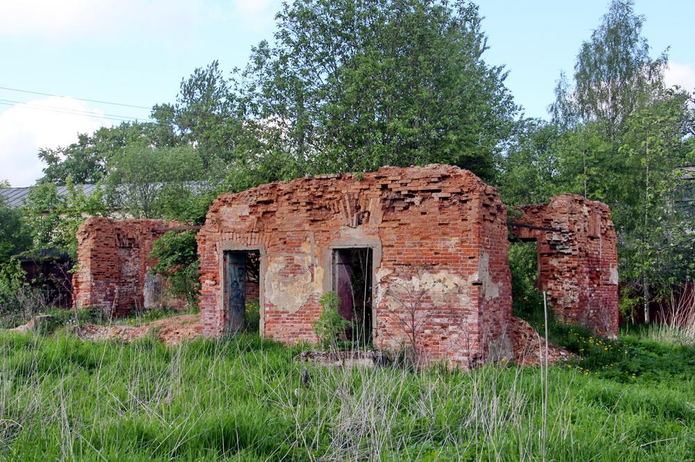 Красное Село, улица Горбунова, 1, руины