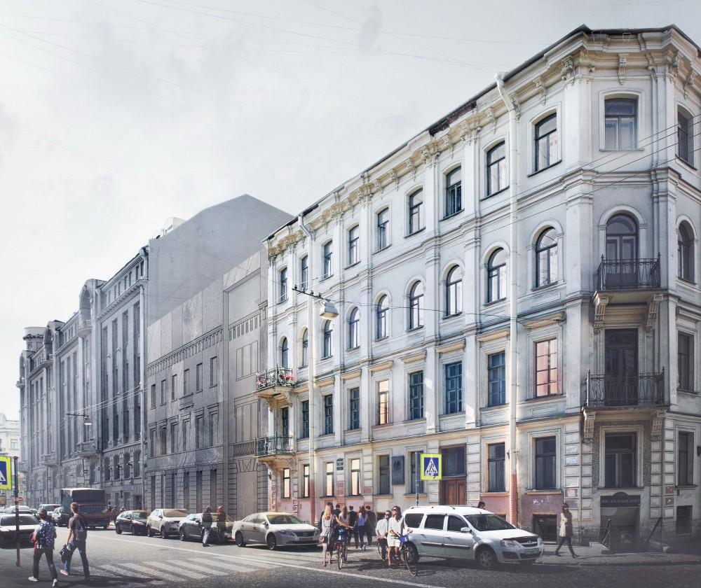 Кузнечный переулок, проект нового здания Музея Достоевского