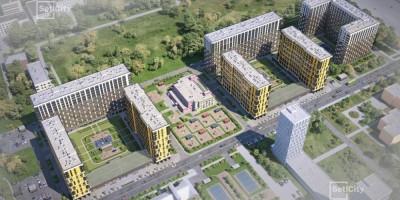 Октябрьская набережная, 38, проект жилого комплекса на месте завода Пигмент