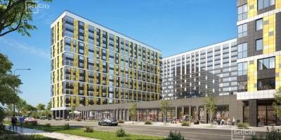 Октябрьская набережная, 38, проект жилого комплекса на месте завода Пигмент, торговля