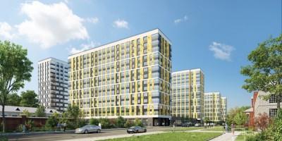 Октябрьская набережная, 38, проект жилого комплекса на месте завода Пигмент, улица