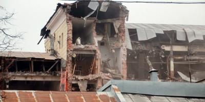 Петмол, снос здания