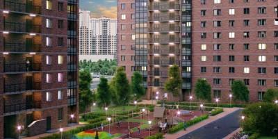 Проект нового квартала Северной долины, двор