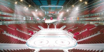 Проспект Юрия Гагарина, 8, проект СКК Арена, ледовая арена