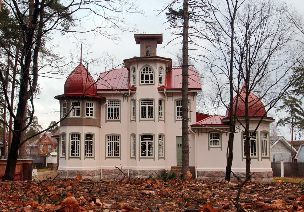 Сестрорецк, 4-я линия, дом 14, дача Гербиха