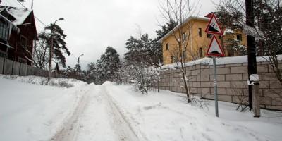 Сестрорецк, Купальный переулок в Тарховке