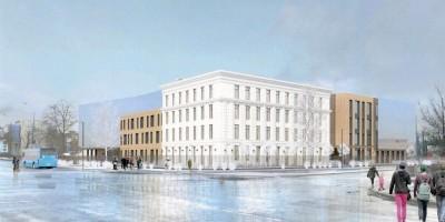 Школа на Крестовском проспекте, проект