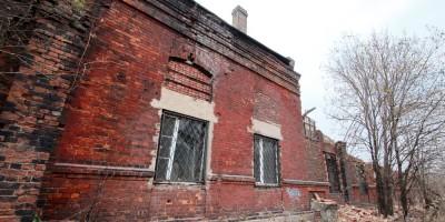 Улица Шкапина, снос гаража для омнибусов, фасад