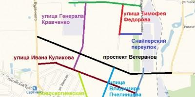 Улицы Новосергиева