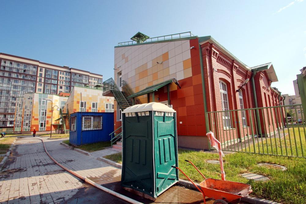 Заставская улица, 44, корпус 2, задняя часть