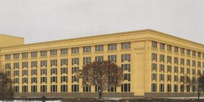 Банк Россия, проект реконструкции